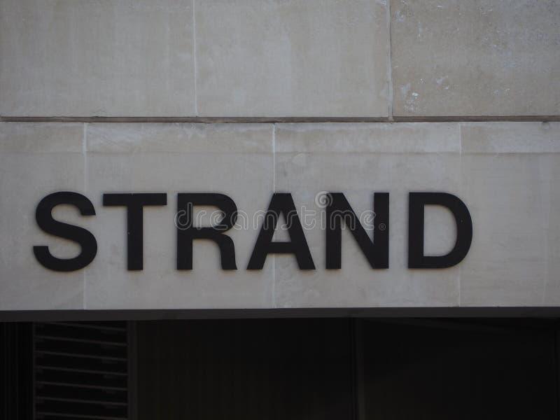 Bundelteken in Londen stock fotografie