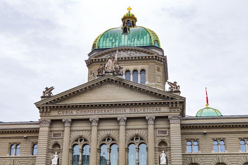 Bundeshaus Berna imagem de stock royalty free