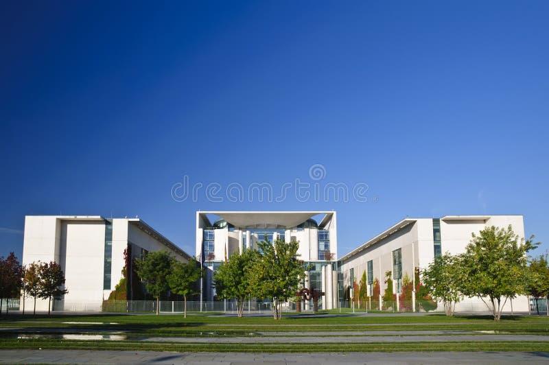 Bundeskanzleramt in Berlin lizenzfreies stockbild
