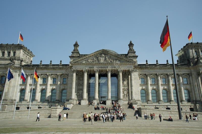 Bundestag à Berlin image libre de droits