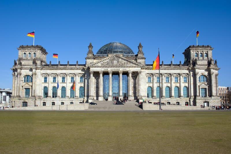 Bundestag fotografie stock