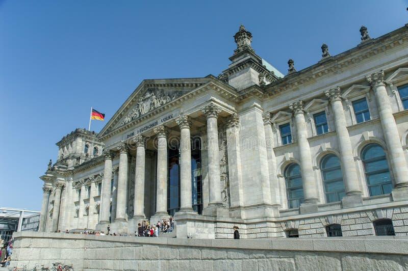 Bundestag a Berlino immagine stock