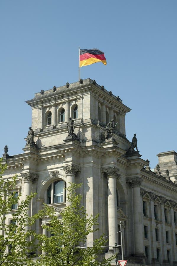Bundestag a Berlino fotografia stock