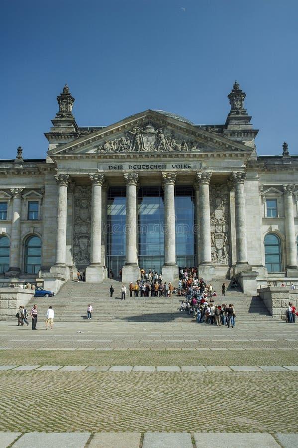 Bundestag a Berlino immagine stock libera da diritti