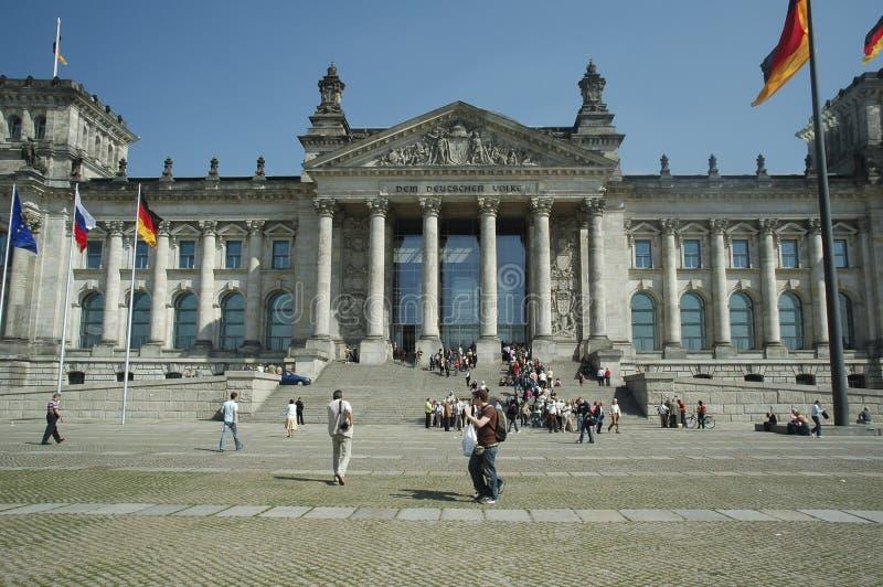 Bundestag a Berlino fotografie stock
