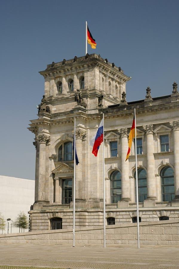 Bundestag a Berlino immagini stock libere da diritti