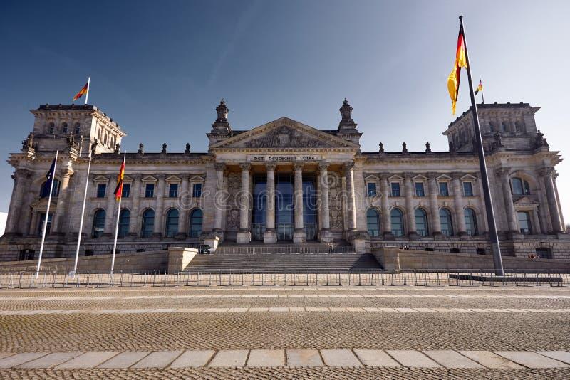 Bundestag en Berlín fotografía de archivo