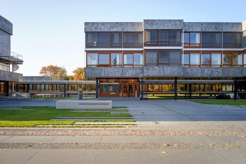 Bundesverfassungsgericht德国联邦宪法Cour 免版税库存图片