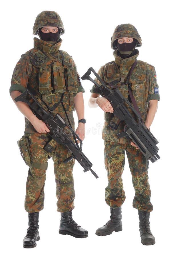 bundeswehr στρατιώτες στοκ εικόνες με δικαίωμα ελεύθερης χρήσης