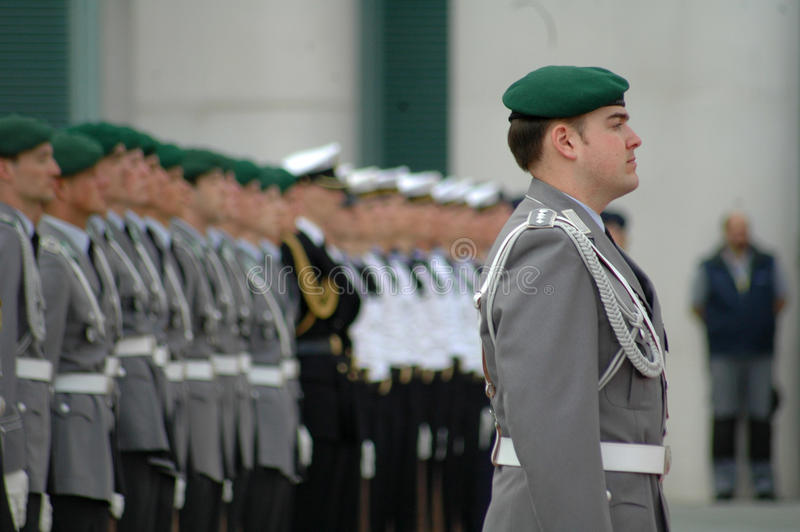 Bundeswehr imagens de stock royalty free