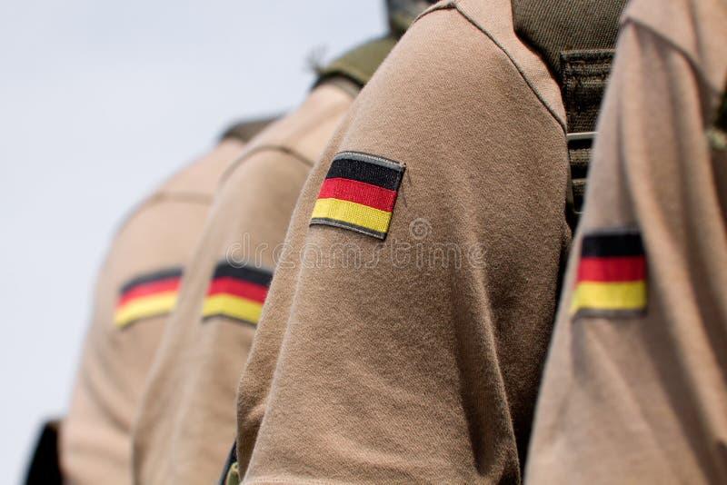 Bundeswehr militairen stock foto's