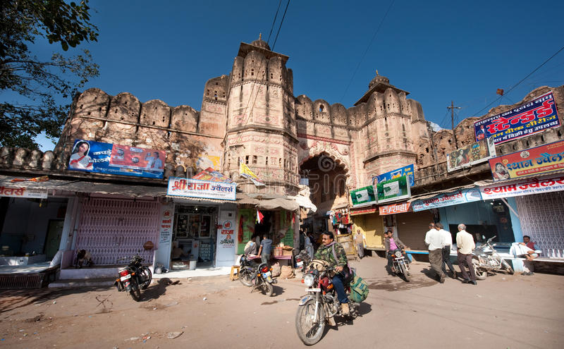 Bundi Индия стоковое фото