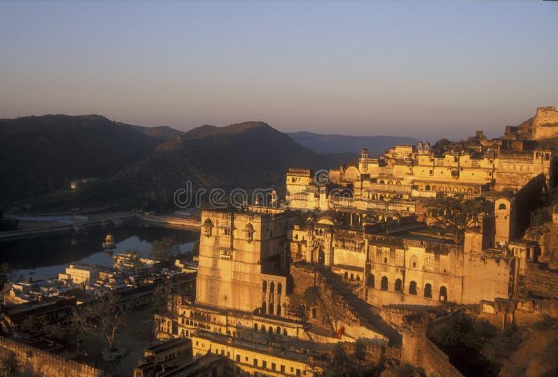 Bundi Palace at Sunrise royalty free stock photo