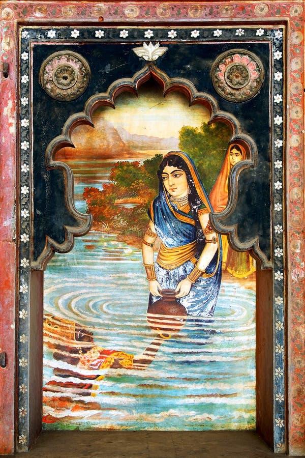 Bundi slott. Indien royaltyfria bilder