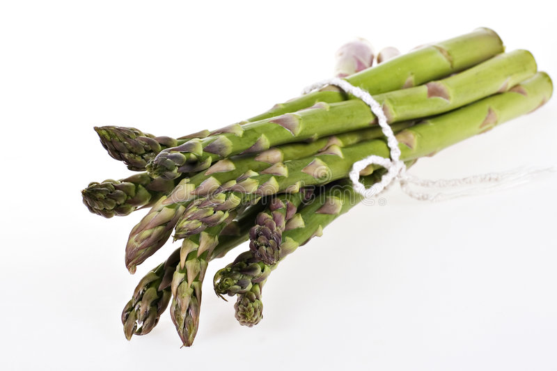 Bundle of Asparagus stock photography