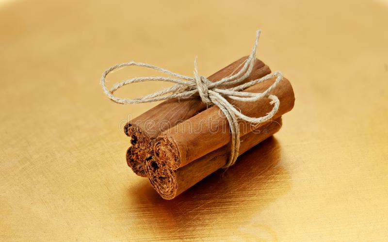 Bundle of cinnamon stick royalty free stock photography