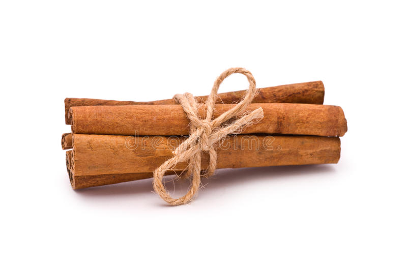 Bundle of Cinnamon royalty free stock photography
