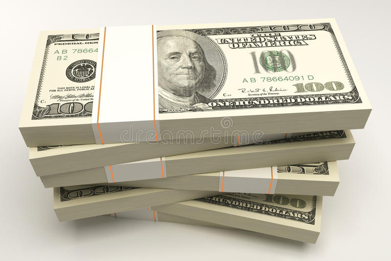 Download Bundle of Dollar Note stock illustration. Image of note - 25753669