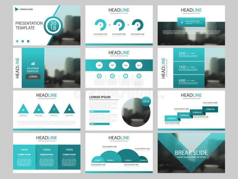 Bundle infographic elements presentation template. business annual report, brochure, leaflet, advertising flyer, stock illustration