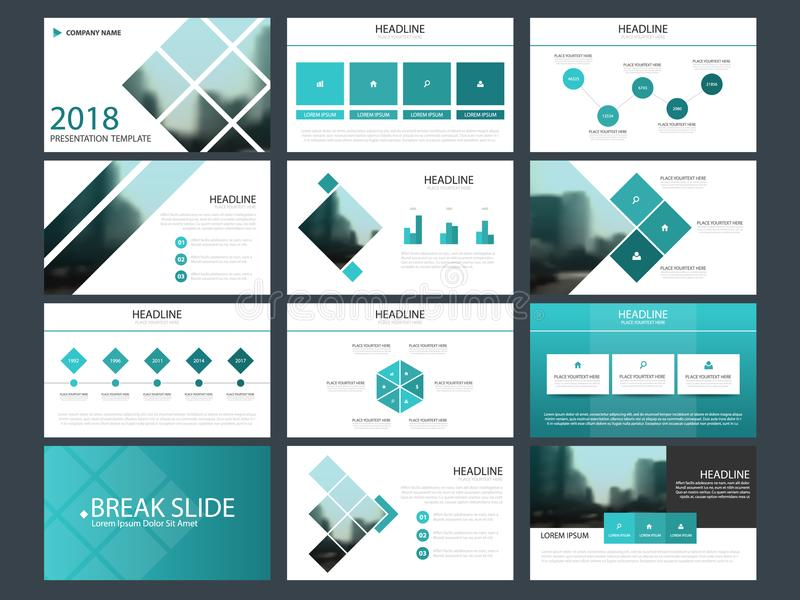 Bundle infographic elements presentation template. business annual report, brochure, leaflet, advertising flyer, vector illustration