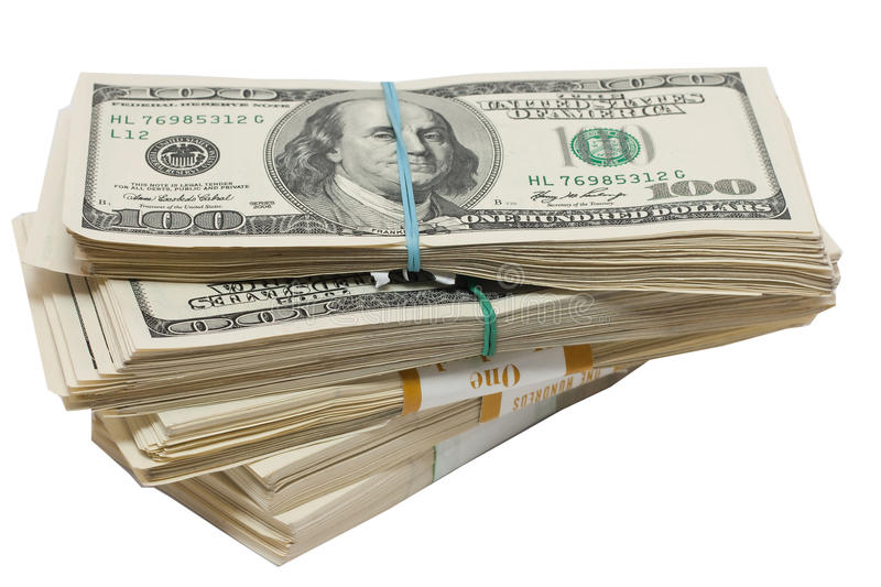 Download A Bundle Of Money Stock Photos - Image: 19104653