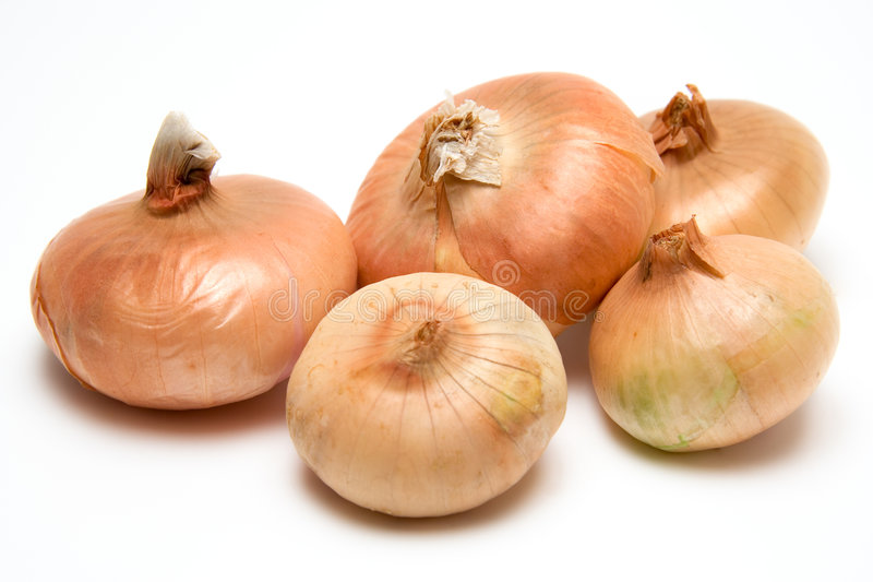 Bundle Of  Onion Royalty Free Stock Photos