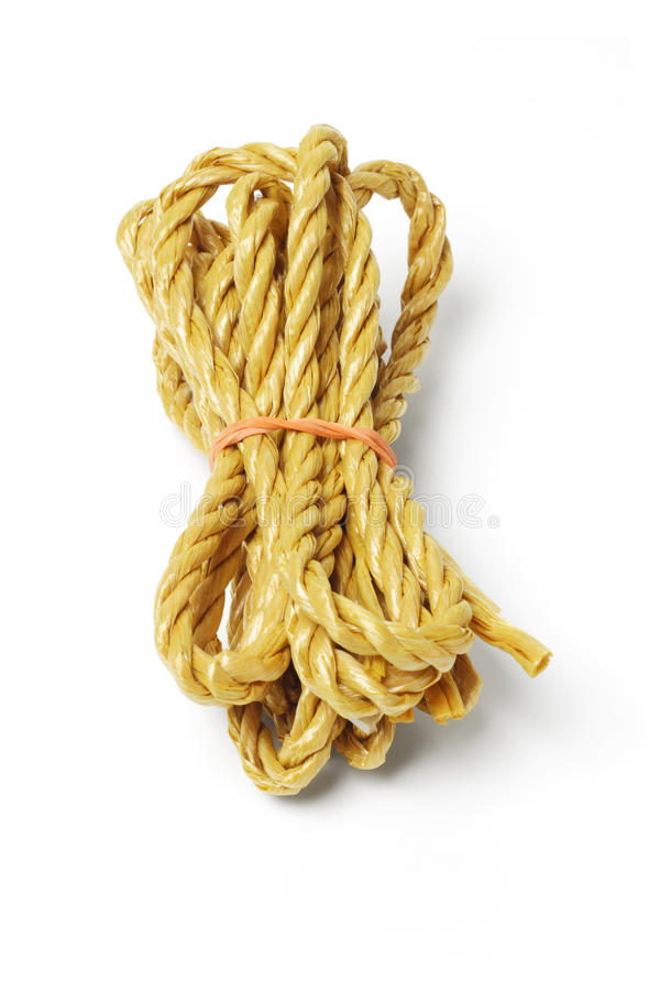 Download Bundle of rope stock photo. Image of twist, brown, cord - 19505676