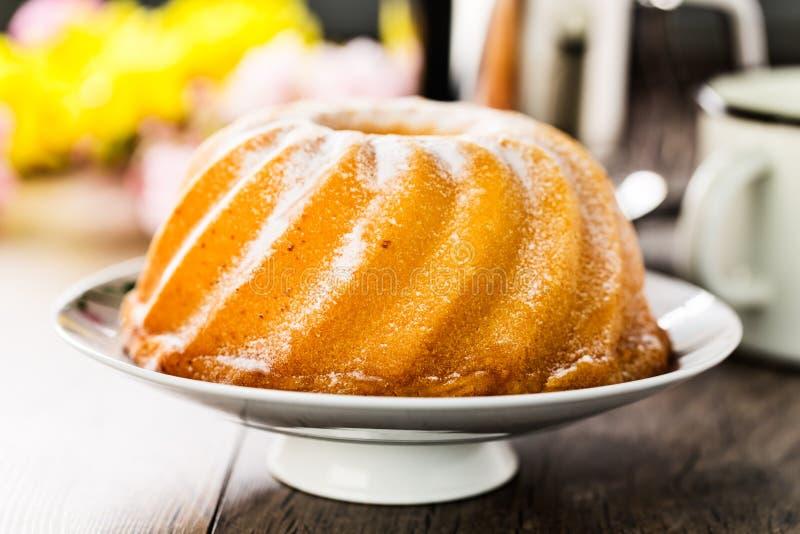 Bundt蛋糕 免版税库存图片