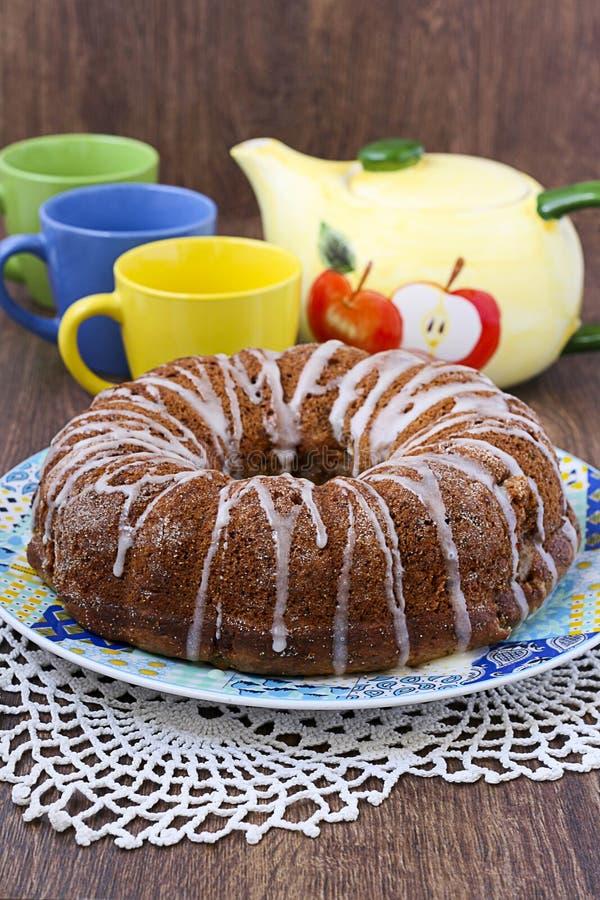 Bundt cake royaltyfri foto