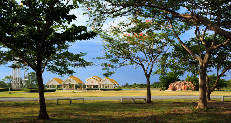 Bung Ta Lua park stock photo