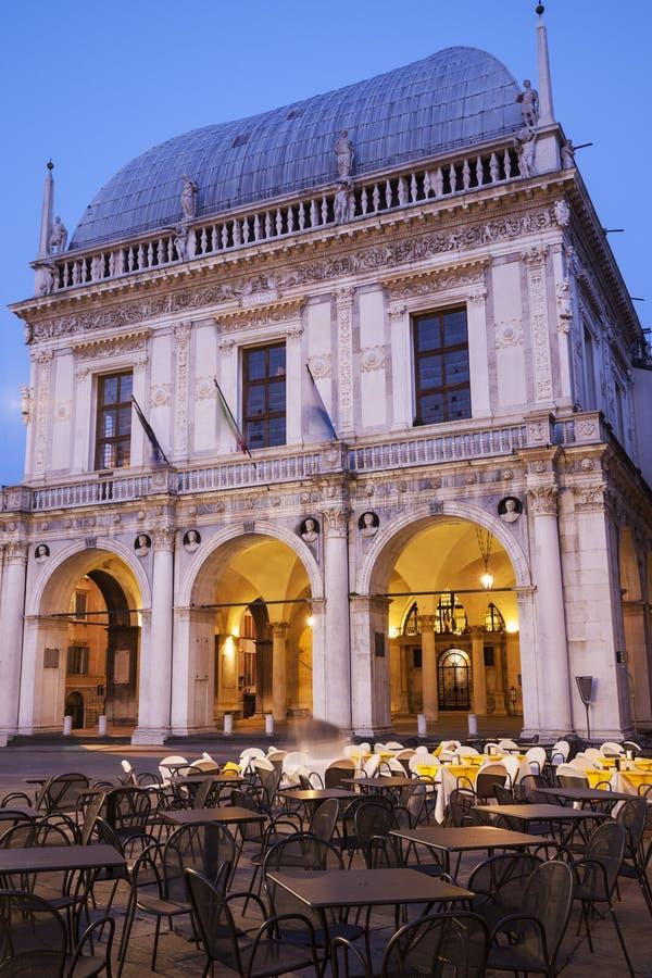 Bungalow de La (hôtel de ville) à Brescia, photo libre de droits