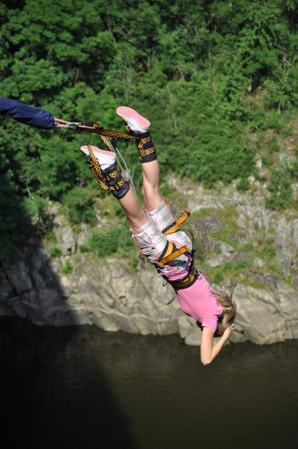 Bungee photographie stock