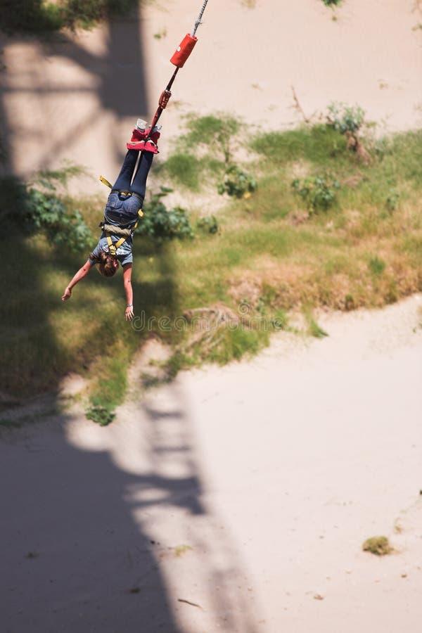 bungee 5 skoczek fotografia stock