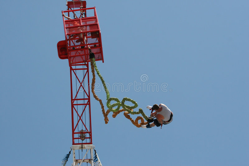 Download Bungee Jump stock photo. Image of excitement, leap, sports - 1000904