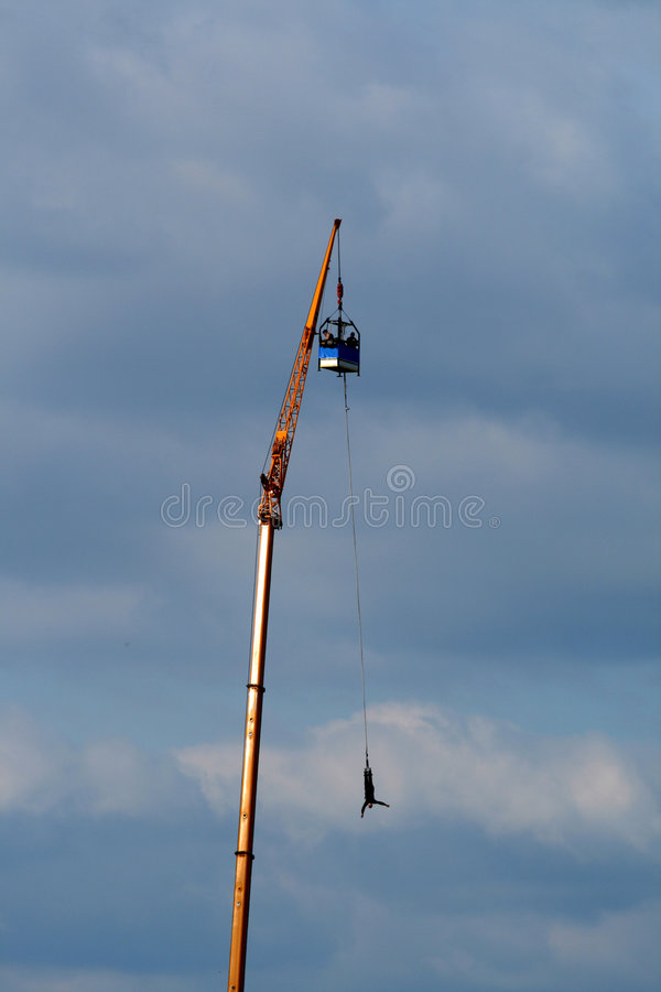 Download Bungee jump stock photo. Image of fall, courageously, bravery - 8482934