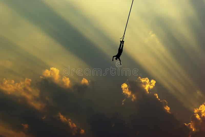 Download Bungee jump stock photo. Image of adrenaline, beautiful - 40529474