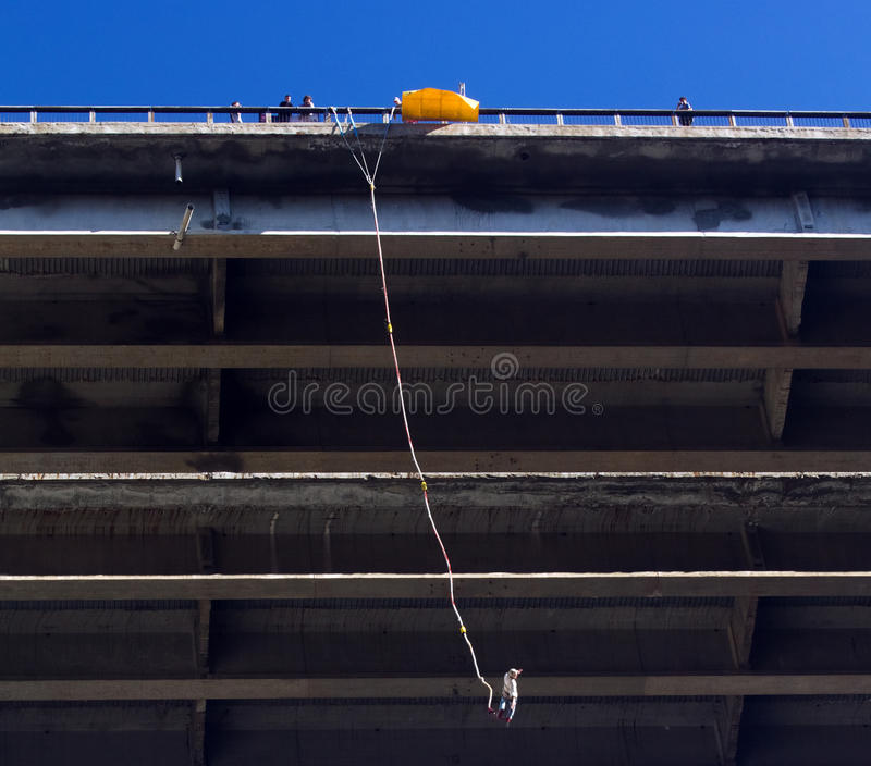 Download Bungee jumping editorial image. Image of bungee, person - 19469900