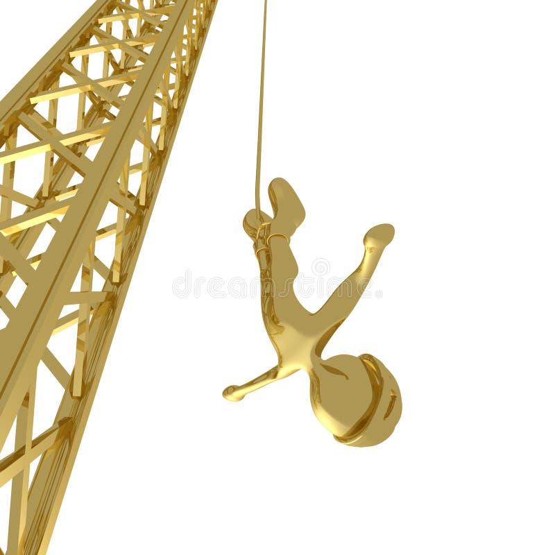 Bungee Jumping stock illustration