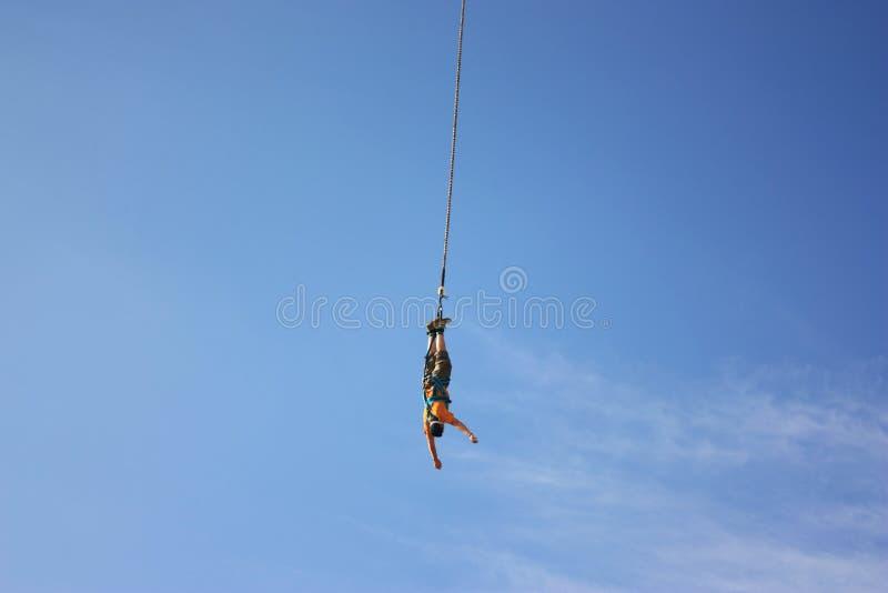 Bungee jumping fotografia stock libera da diritti