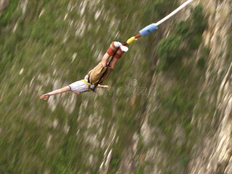 bungee skok zdjęcie royalty free