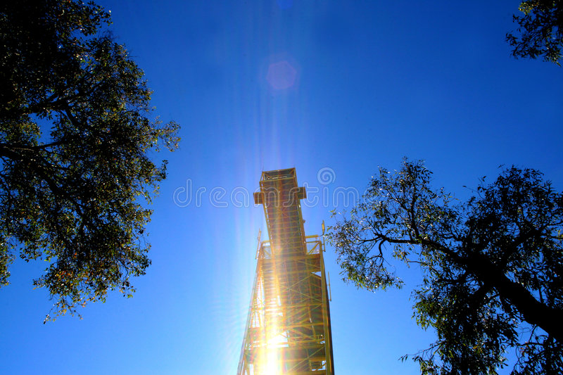 Bungee Tower Royalty Free Stock Photo