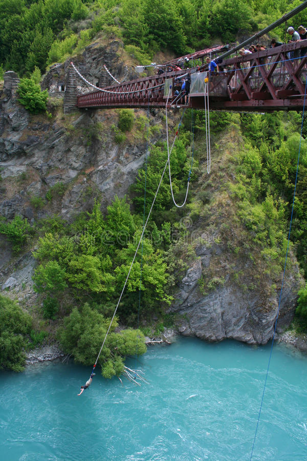 Download Bungy Jumping In New Zealand Editorial Photo - Image: 16949971