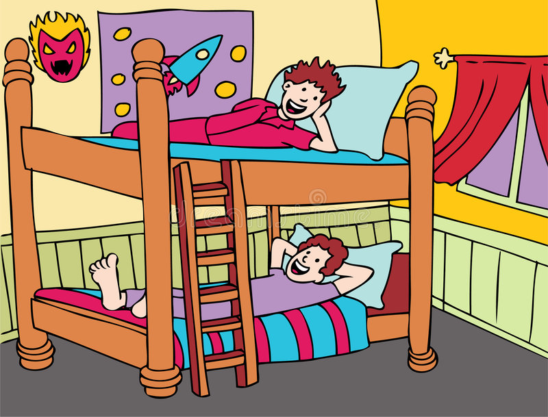 Bunkbeds vector illustration