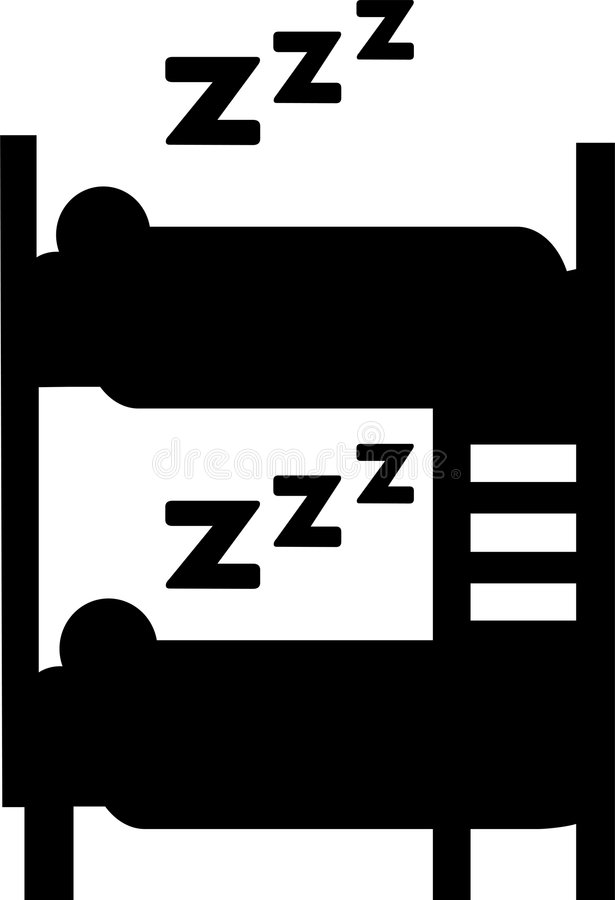 Download Bunkbeds backpacker иллюстрация штока. иллюстрации насчитывающей символ - 6860339
