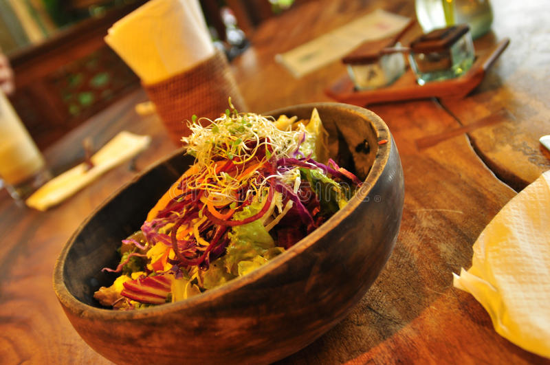 Bunke av asiatisk sund läcker mat royaltyfri foto