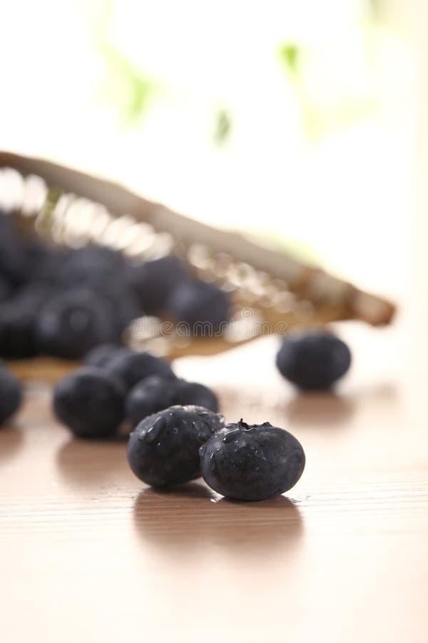 Bunke av blåbär royaltyfri bild