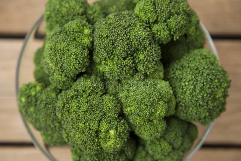Bunke av broccoli royaltyfri bild