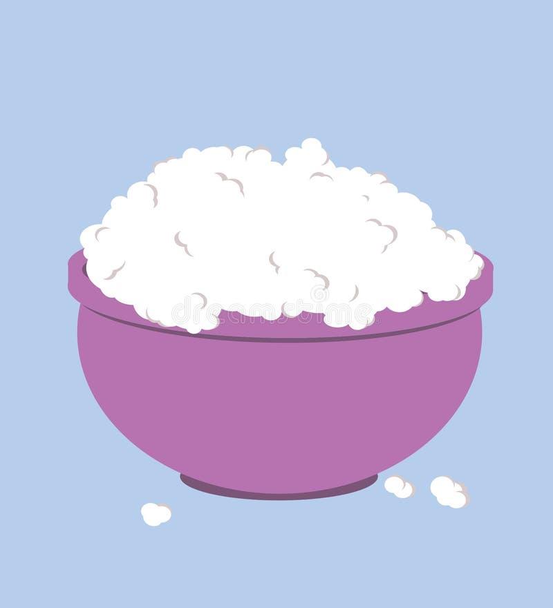 Bunke mycket av popcorngemkonst arkivfoton