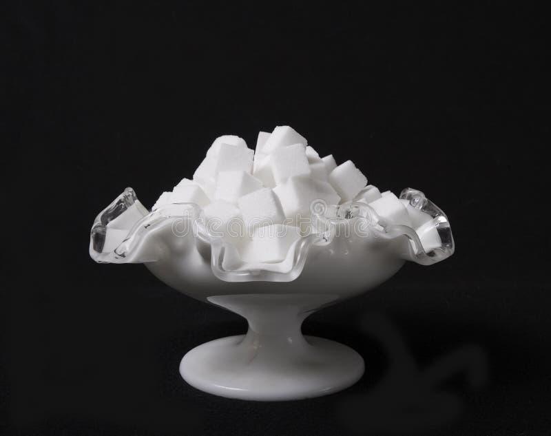 Download Bunken Skära I Tärningar Glass Socker Arkivfoto - Bild av skugga, ingrediens: 508274