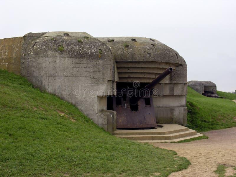 Bunker. German bunker in Normandy royalty free stock images